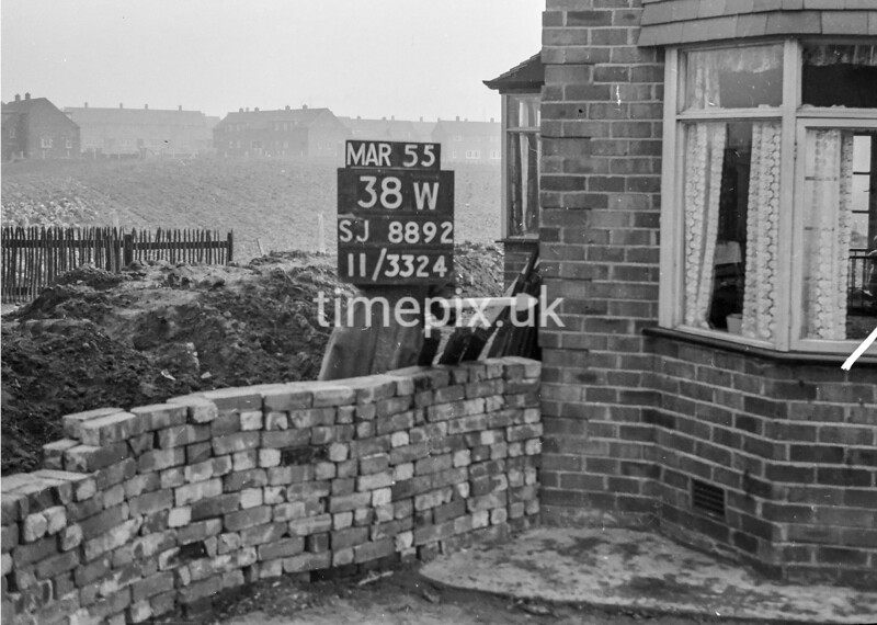 SJ889238W, Ordnance Survey Revision Point photograph in Greater Manchester