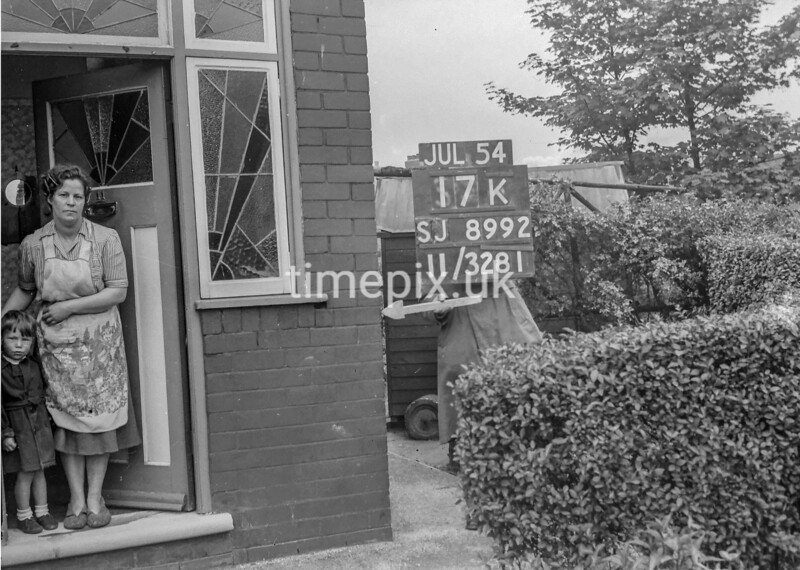 SJ899217K, Ordnance Survey Revision Point photograph in Greater Manchester