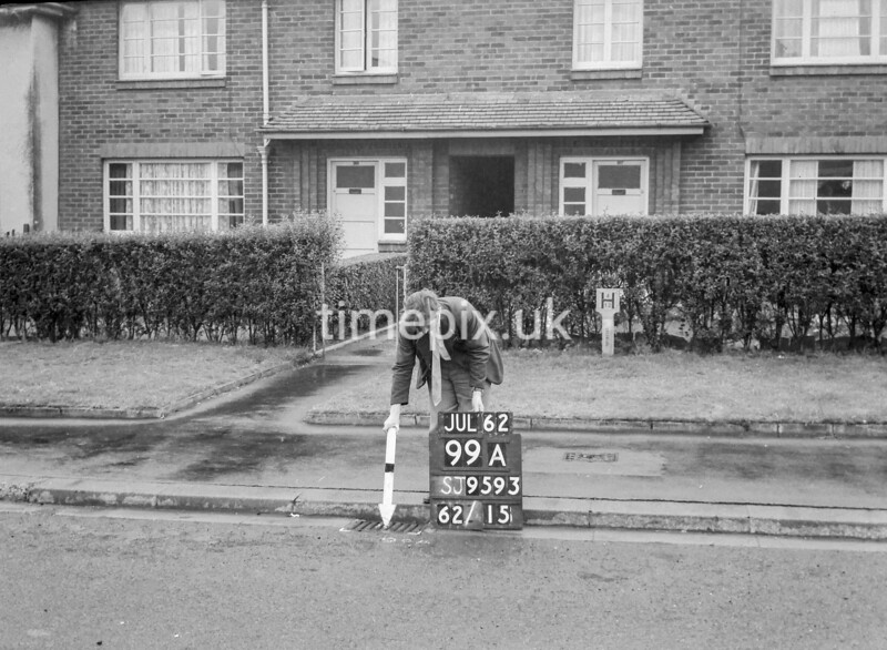 SJ959399A, Ordnance Survey Revision Point photograph in Greater Manchester
