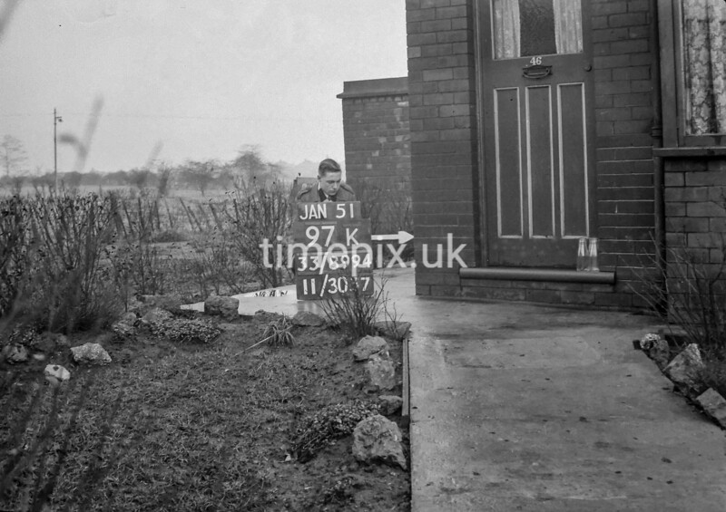 SJ899497K, Ordnance Survey Revision Point photograph in Greater Manchester