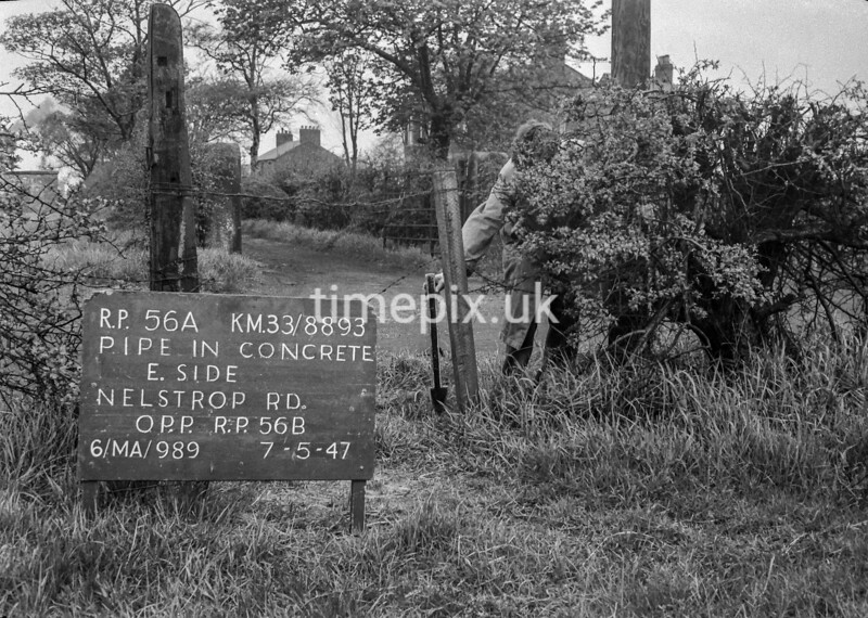 SJ889356A, Ordnance Survey Revision Point photograph in Greater Manchester