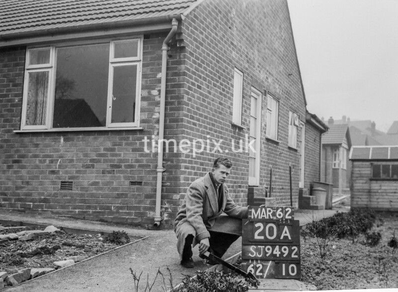 SJ949220A, Ordnance Survey Revision Point photograph in Greater Manchester