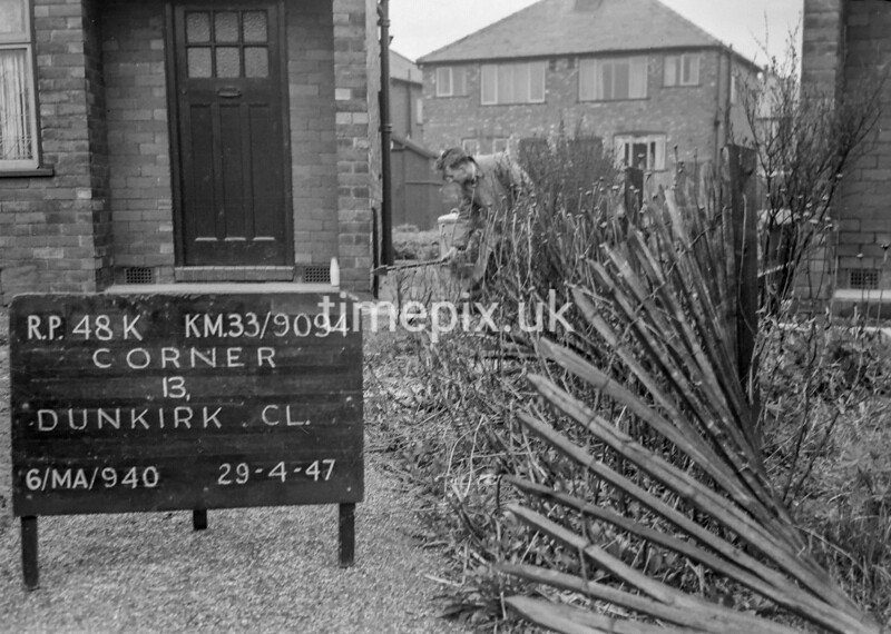 SJ909448K, Ordnance Survey Revision Point photograph in Greater Manchester