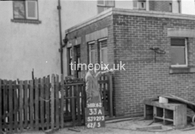 SJ929233A, Ordnance Survey Revision Point photograph in Greater Manchester