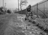 SJ909303W, Ordnance Survey Revision Point photograph in Greater Manchester