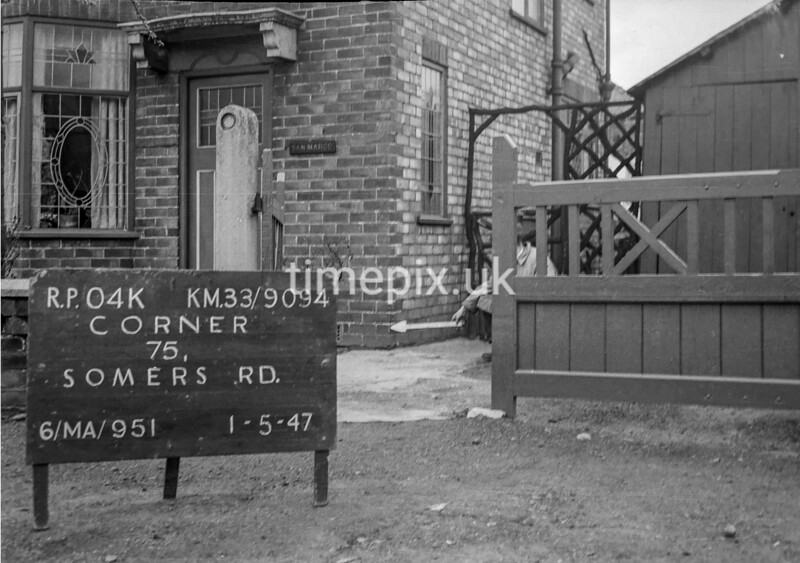 SJ909404K, Ordnance Survey Revision Point photograph in Greater Manchester