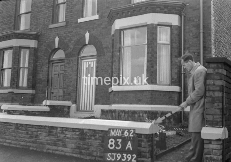 SJ939283A, Ordnance Survey Revision Point photograph in Greater Manchester