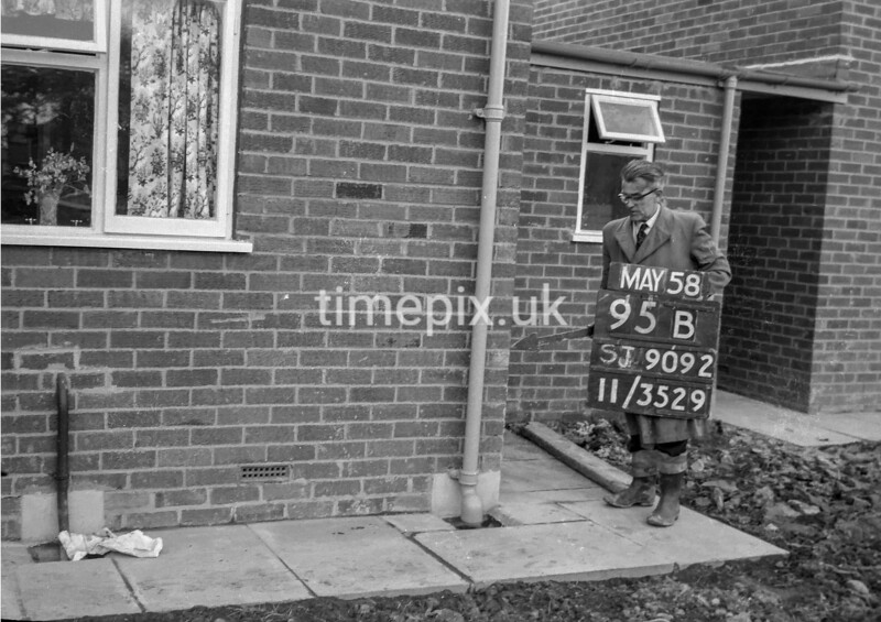 SJ909295B, Ordnance Survey Revision Point photograph in Greater Manchester