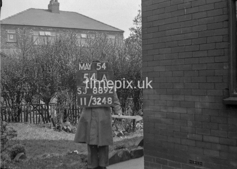 SJ889254A, Ordnance Survey Revision Point photograph in Greater Manchester