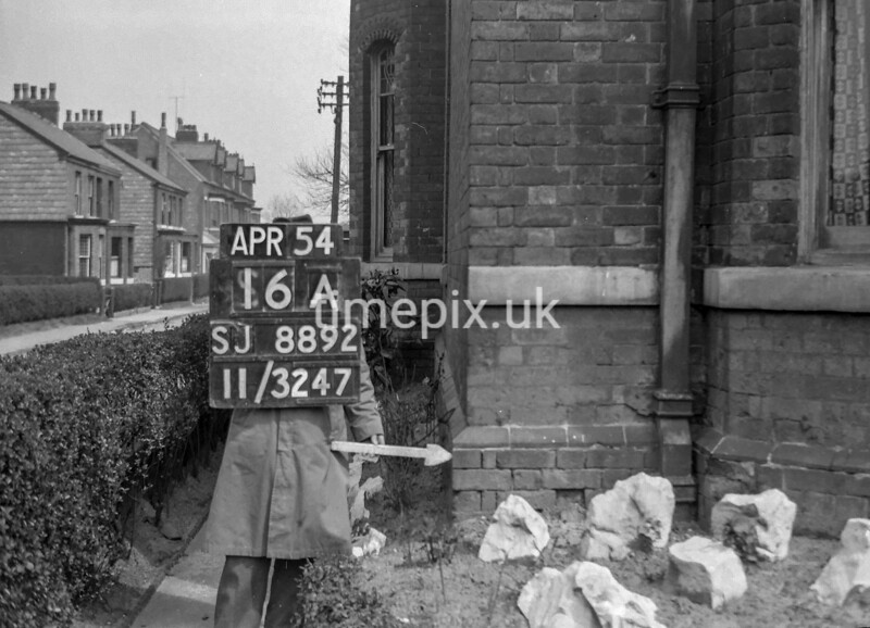SJ889216A, Ordnance Survey Revision Point photograph in Greater Manchester