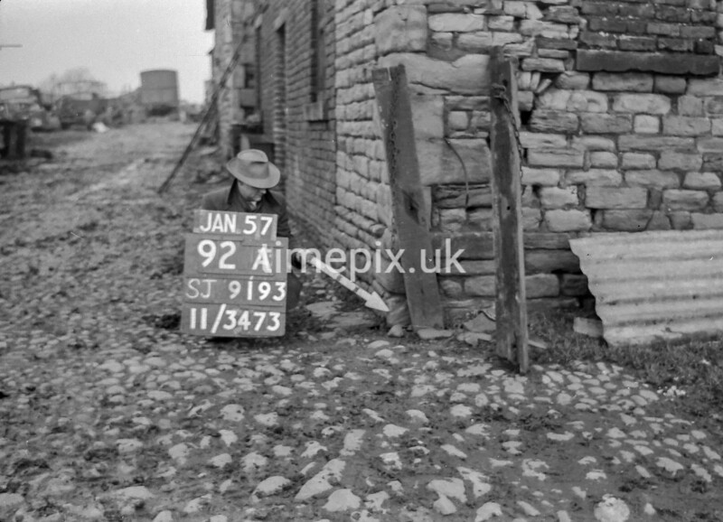 SJ919392A, Ordnance Survey Revision Point photograph in Greater Manchester