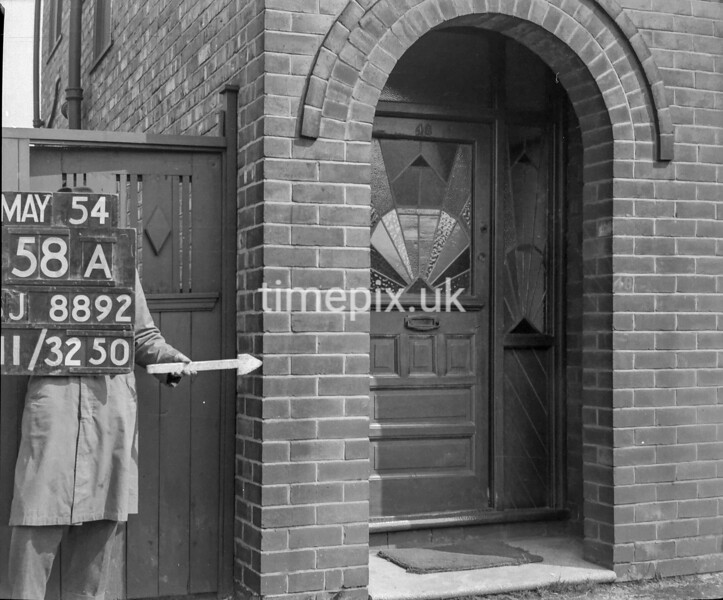 SJ889258A, Ordnance Survey Revision Point photograph in Greater Manchester