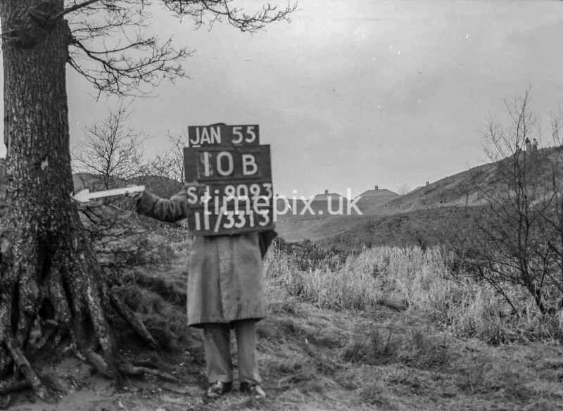 SJ909310B, Ordnance Survey Revision Point photograph in Greater Manchester