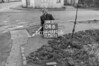 SJ929204B, Ordnance Survey Revision Point photograph in Greater Manchester
