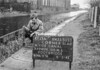 SJ899317A1, Ordnance Survey Revision Point photograph in Greater Manchester
