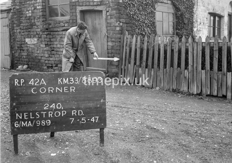 SJ889342A, Ordnance Survey Revision Point photograph in Greater Manchester