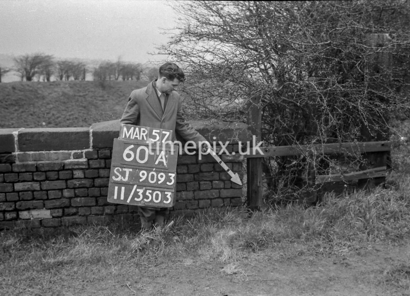 SJ909360A, Ordnance Survey Revision Point photograph in Greater Manchester