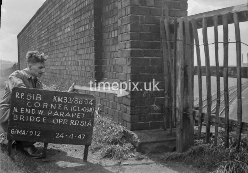 SJ889451B, Ordnance Survey Revision Point photograph in Greater Manchester