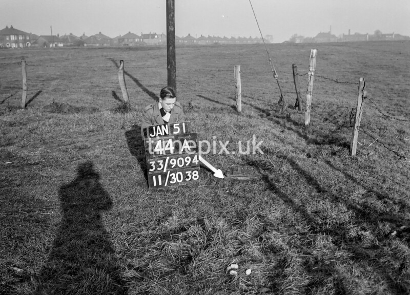 SJ909444A, Ordnance Survey Revision Point photograph in Greater Manchester
