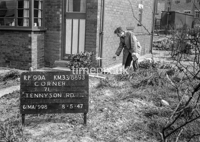 SJ889399A, Ordnance Survey Revision Point photograph in Greater Manchester