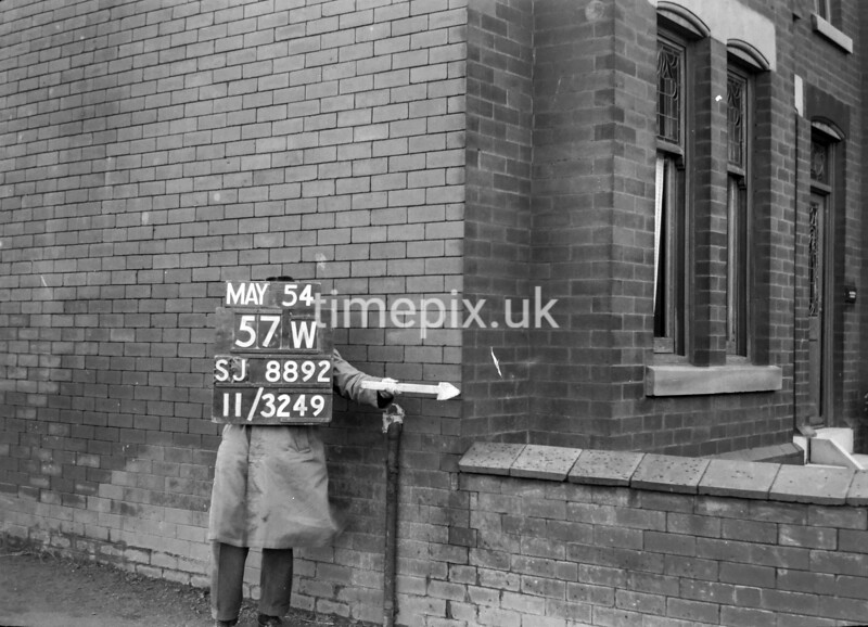 SJ889257W, Ordnance Survey Revision Point photograph in Greater Manchester