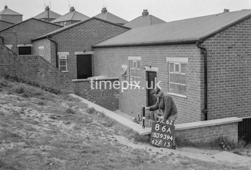 SJ939486A, Ordnance Survey Revision Point photograph in Greater Manchester