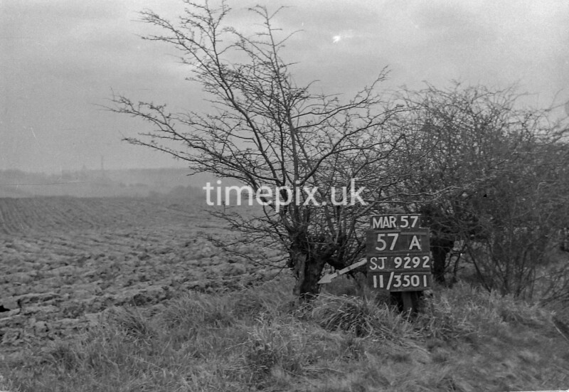 SJ929257A, Ordnance Survey Revision Point photograph in Greater Manchester