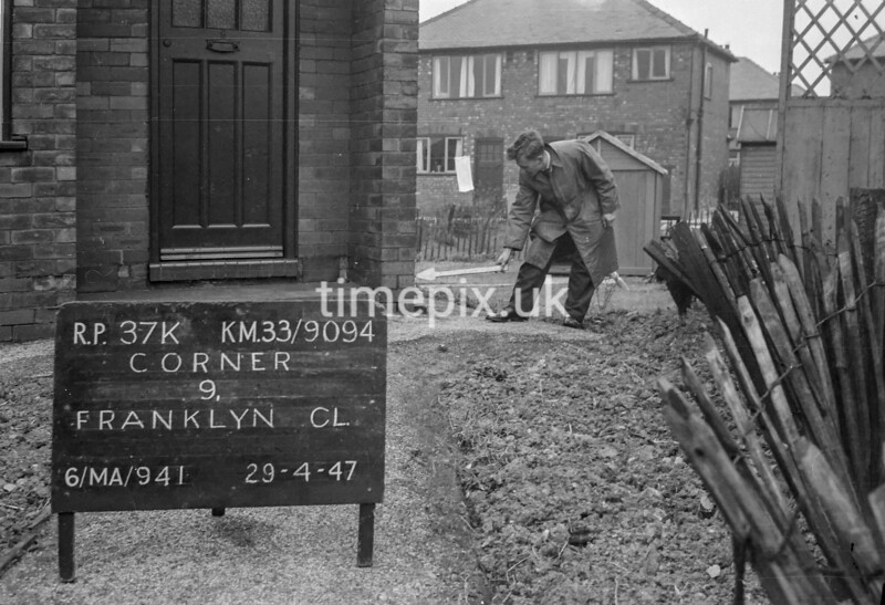 SJ909437K, Ordnance Survey Revision Point photograph in Greater Manchester
