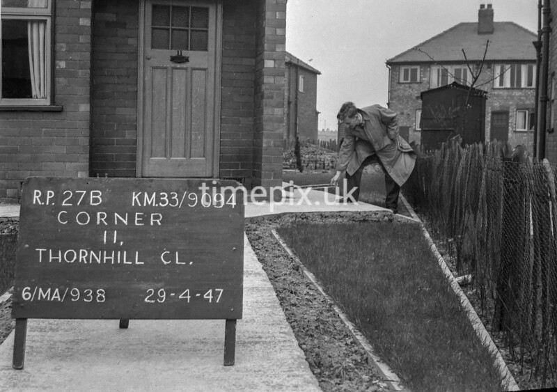 SJ909427B, Ordnance Survey Revision Point photograph in Greater Manchester