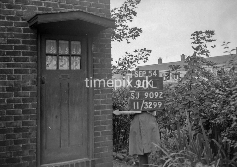 SJ909290L, Ordnance Survey Revision Point photograph in Greater Manchester