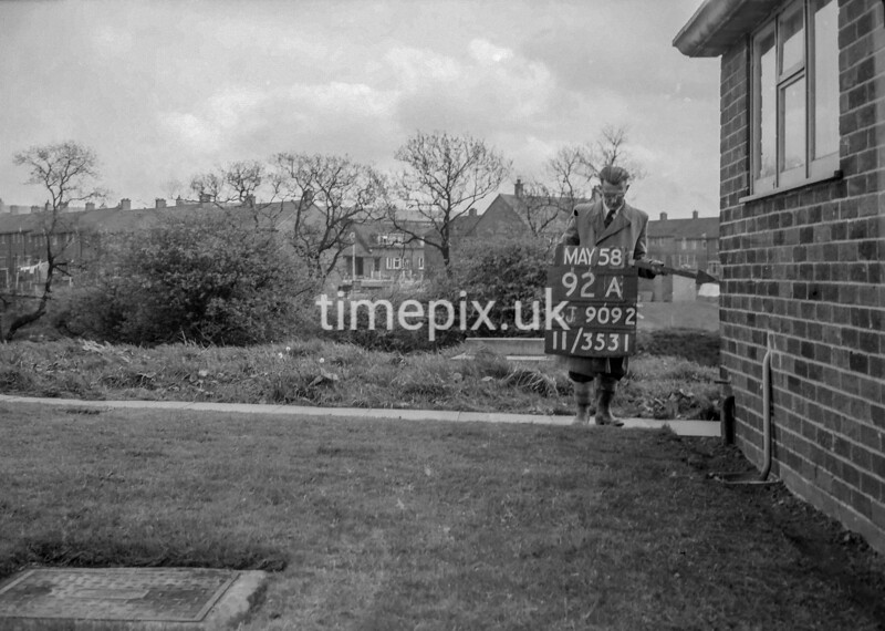 SJ909292A, Ordnance Survey Revision Point photograph in Greater Manchester