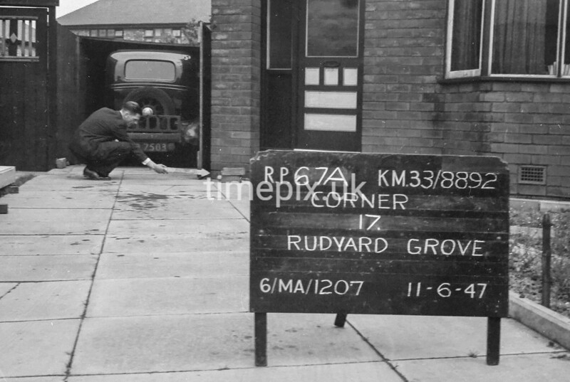 SJ889267A, Ordnance Survey Revision Point photograph in Greater Manchester