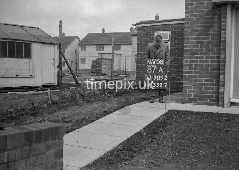 SJ909287A, Ordnance Survey Revision Point photograph in Greater Manchester