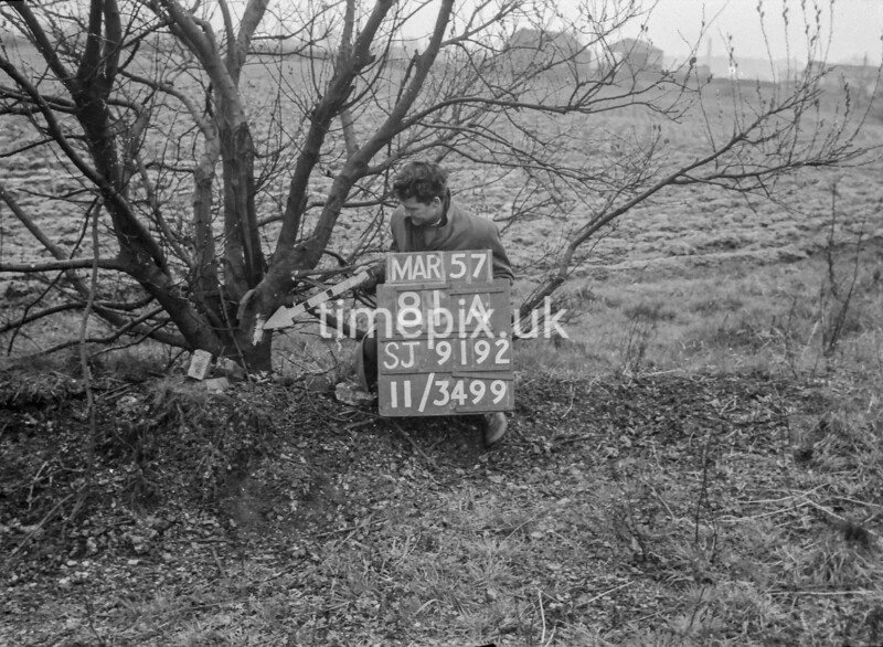 SJ919281A, Ordnance Survey Revision Point photograph in Greater Manchester