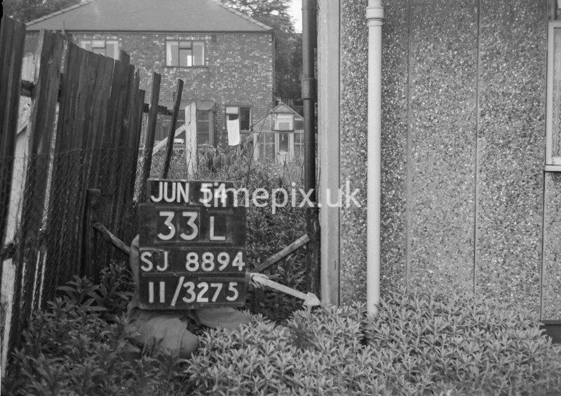 SJ889433L, Ordnance Survey Revision Point photograph in Greater Manchester