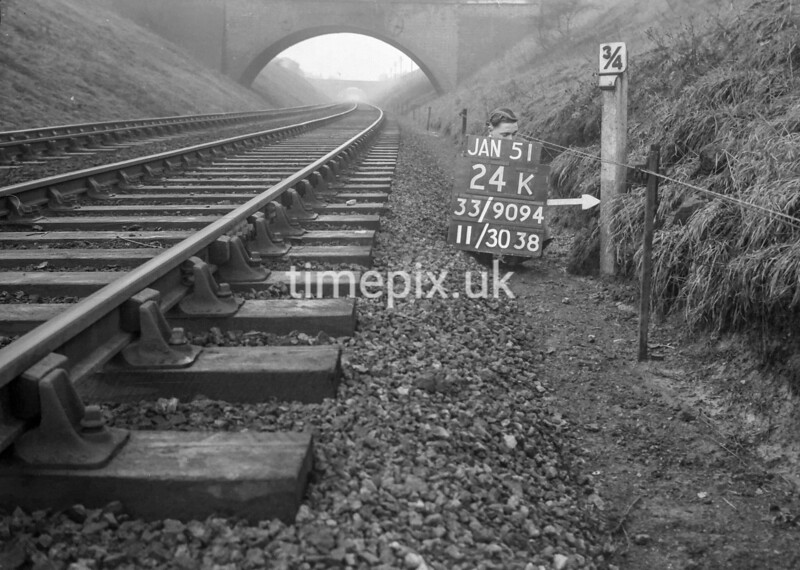 SJ909424K, Ordnance Survey Revision Point photograph in Greater Manchester