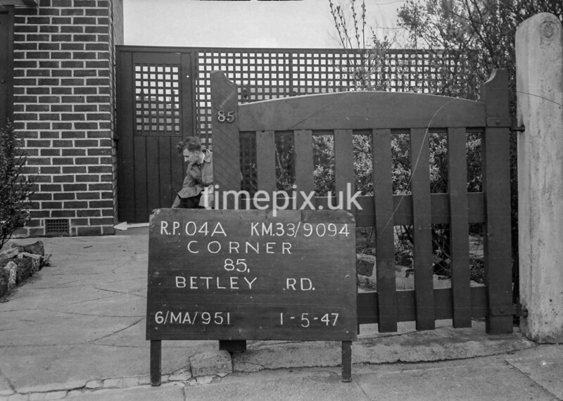 SJ909404A, Ordnance Survey Revision Point photograph in Greater Manchester