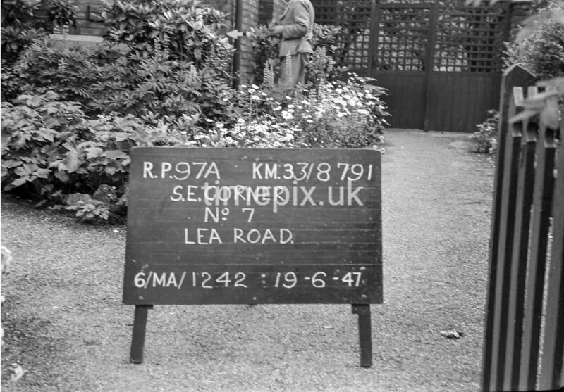 SJ879197A, Ordnance Survey Revision Point photograph in Greater Manchester