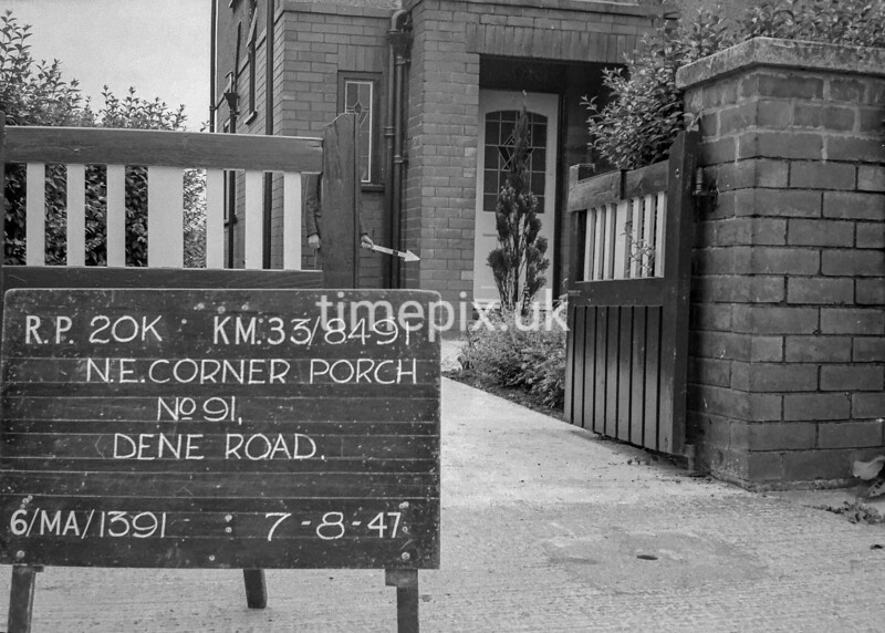 SJ849120K, Ordnance Survey Revision Point photograph in Greater Manchester
