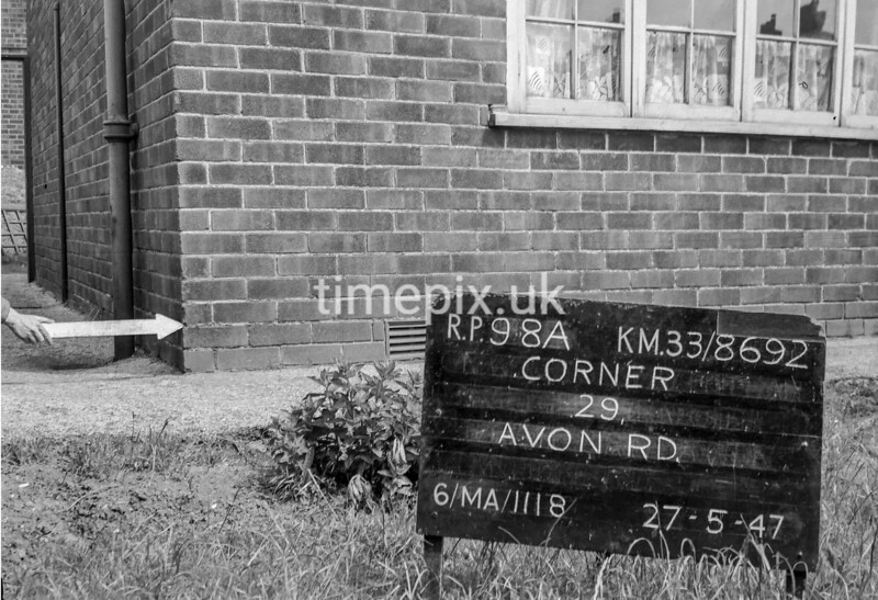 SJ869298A, Ordnance Survey Revision Point photograph in Greater Manchester