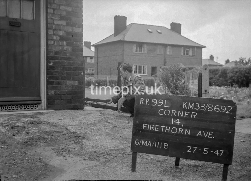 SJ869299L, Ordnance Survey Revision Point photograph in Greater Manchester
