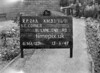 SJ869124A, Ordnance Survey Revision Point photograph in Greater Manchester