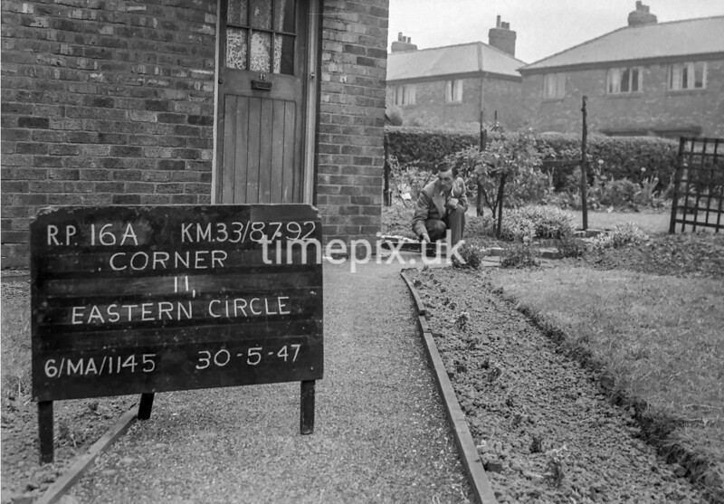 SJ879216A, Ordnance Survey Revision Point photograph in Greater Manchester