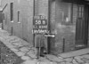 SJ859258B, Ordnance Survey Revision Point photograph in Greater Manchester