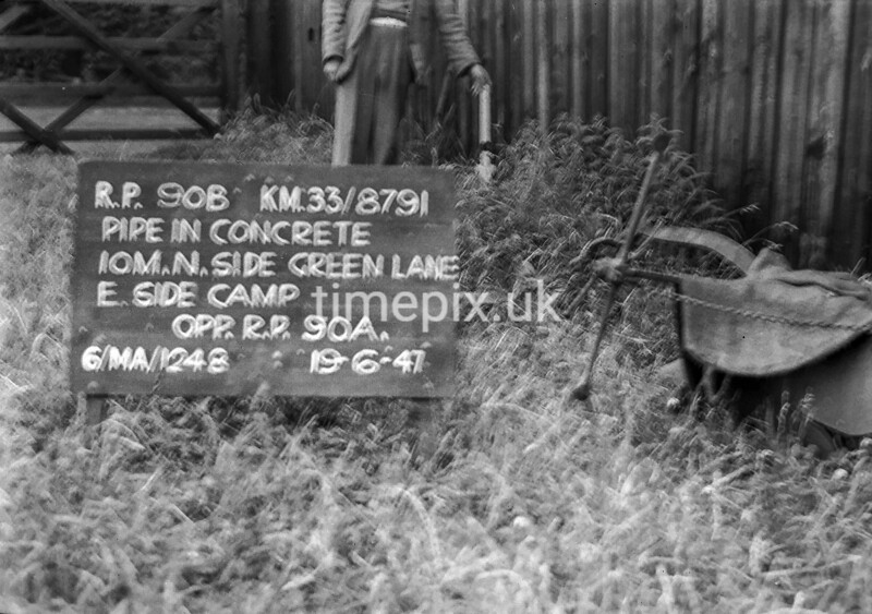 SJ879190B, Ordnance Survey Revision Point photograph in Greater Manchester