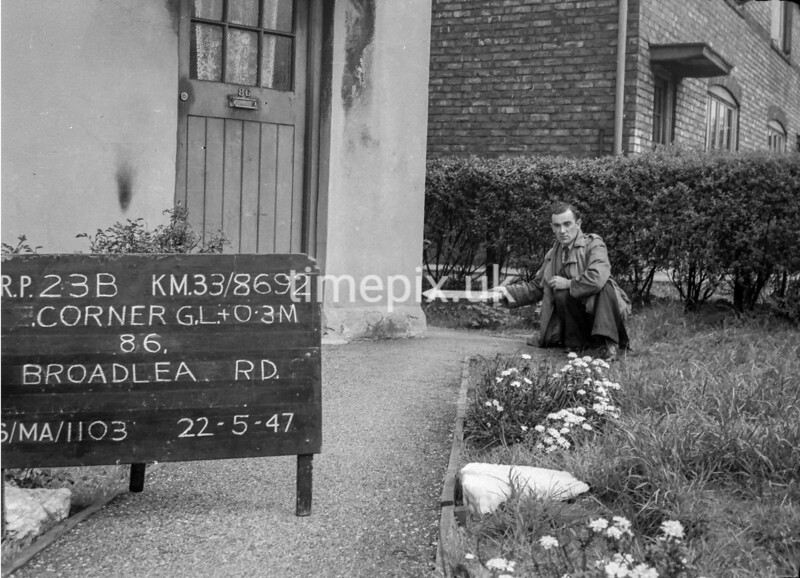 SJ869223B, Ordnance Survey Revision Point photograph in Greater Manchester