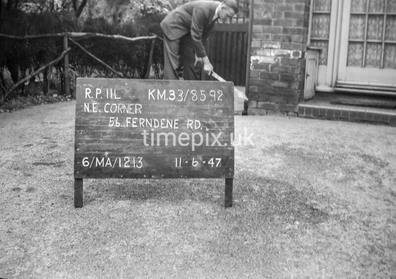 SJ859211L, Ordnance Survey Revision Point photograph in Greater Manchester