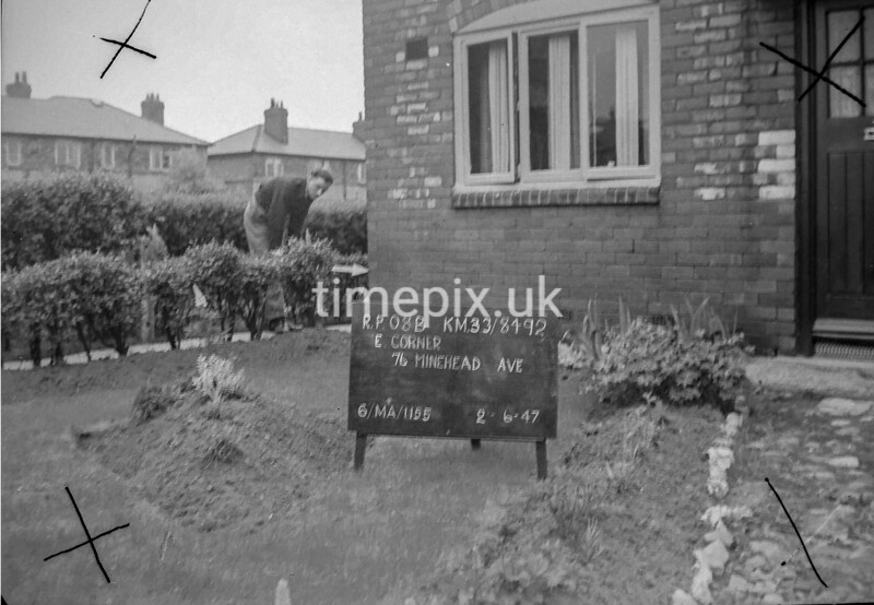 SJ849208B1, Ordnance Survey Revision Point photograph in Greater Manchester