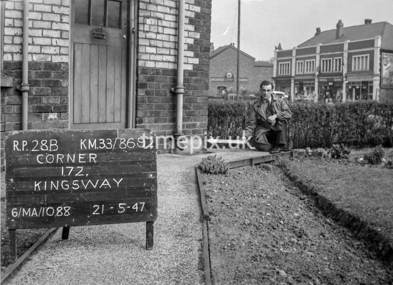 SJ869228B, Ordnance Survey Revision Point photograph in Greater Manchester