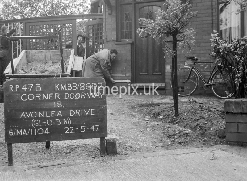 SJ869247B, Ordnance Survey Revision Point photograph in Greater Manchester